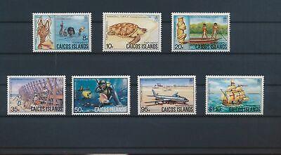 LO13133 Turks & Caicos culture & nature fine lot MNH