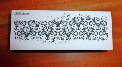LaBlanche Stempel Ornamente Schnörkel Bordüre Feinkonturenstempel Hintergrund, gebraucht gebraucht kaufen  Cambs