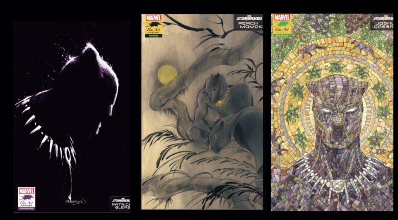 Black Panther 25 Final Issue 3 Book Lot Momoko, Gleason & Cassara Variants