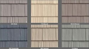 Looking for Vinyl Shakes or Vertical Siding