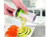 Spiralizer for vegetables