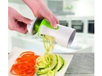 Spiralizer for vegetables