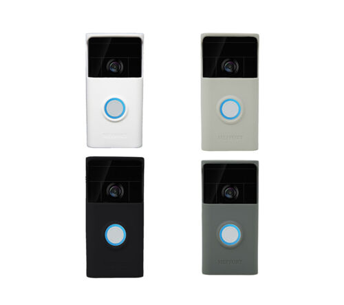 Silicone Skin Case Cover Compatible for Ring Video Doorbell (1st Generation)