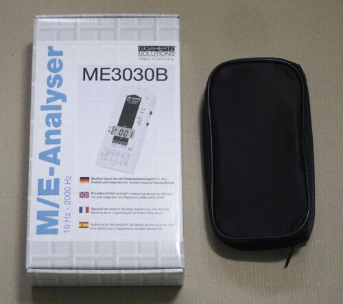 EMF meter, ME3030B, Gigahertz solutions, Made In Germany
