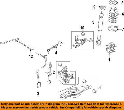 FORD OEM 11-18 Explorer Rear Suspension-Trailing Link BB5Z5500A