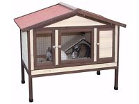 NEW In Box RRP £225 Kerbl Rabbit Hutch / Rodent Cage 4-Seasons Deluxe 130 x 66 x 110 cm