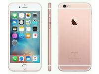 Brand new Apple iphone 6s 64gb ROSE GOLD mobile phone. Sealed.