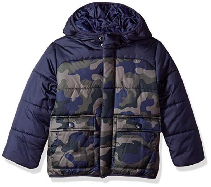 Rothschild Infant Boys Navy Camo Jacket Size 3/6M 6/9M $60