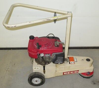 Edco Tg-7 Turbo Grinder - 7 Concrete Floor Edge Grinding Scarifier - 5.5hp Gas