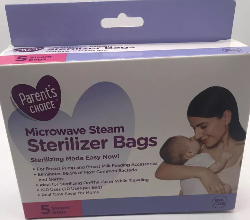 Breast Feeding Bags Microwave Steam Sterilizer Bags Parent Choice