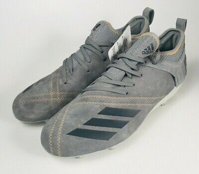 Adidas Adizero 5-Star 7.0 Low Sundays Best Football Cleats Grey Mens Size (Adizero 5 Star Sunday's Best)
