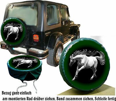 Gray Stallion Horse Car Jeep Truck Wheel Cover