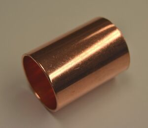 new copper plumbing pipe end feed slip coupler you choose. Black Bedroom Furniture Sets. Home Design Ideas