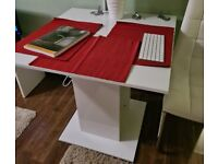 White table from Wayfair