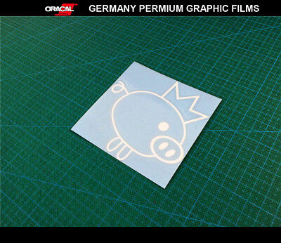 Rocket Bunny pig JDM Car bumper Decal Vinyl Sticker