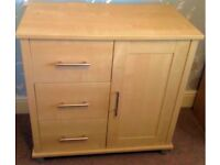 Mamas & Papas Modensa dresser/drawers and cupboard