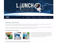 LAUNCH CREATIVE - UK GRAPHIC DESIGN AGENCY - LOGO DESIGN from £25 - WEBSITE DESIGN from £295
