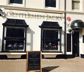 Junior/ Apprentice Barber required at Gentlemen Jacks Eastbourne