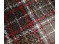 Tartan Wilton Woven Backing Brown/Red Rug 160 x 120 cm 100% Polypropylene