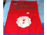3 x Large Deluxe Christmas Sacks, Santa / Snowman present bag 69x47cms