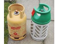 2 Butane Gas Bottles for Sale