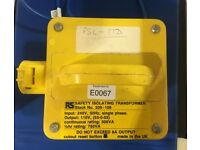110V Isolating transformer (RS 209-106) 500VA