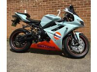 TRIUMPH DAYTONA 675 WITH LOADS OF EXTRAS & MOT R6 CBR