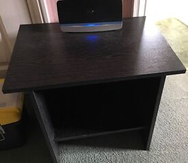Small Black Telephone/Side Table - Free