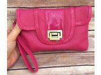 NEW Hot Pink Mini Clutch Bag