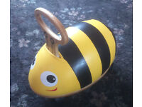 Skipper Ride-N-Roll Bee - Toy Ride On Bumblebee - Excellent Condition - RRP £60!