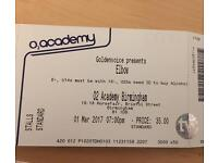 Elbow Tickets