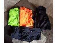 Bike and Running Clothes - MuddyFox and Nike