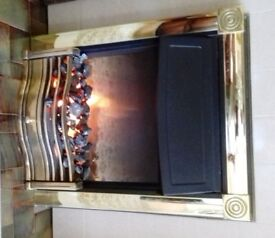 Electric hearth fire