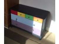 Stag Chest of Drawers Painted in Annie Sloan Chalk Paint
