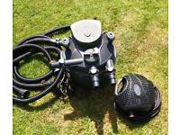 Pond Filter and Pump - Ideal for small pond
