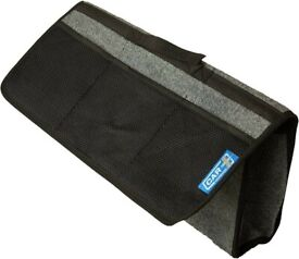 Car Boot Bag Boot Tidy with Self Fastener 50 x 25 cm with 3 Mesh Side Pockets
