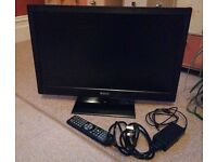 baird 24 inch 3d tv with box and remote 3 months old £60 ono