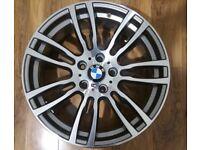 "GENUINE BMW 403M REAR ALLOY WHEEL 19"" EXCELLENT CONDITION 403 ALLOYS"