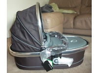 NEW ICandy Peach Blossom Carrycot - Black Jack
