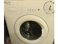 Servis wachine machine with manual