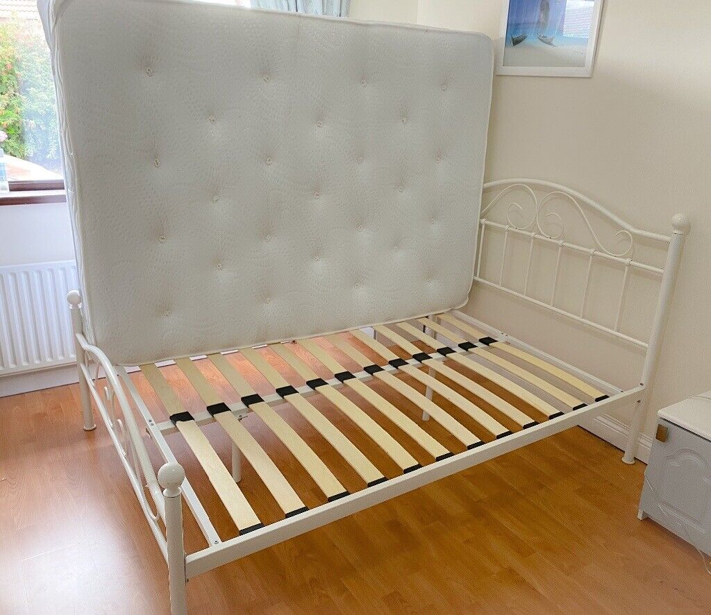 As New Double Bed Frame Memory Foam Mattress In Newtownards County Down Gumtree