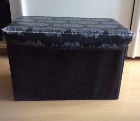 Ottoman storage box £8 Bargain!