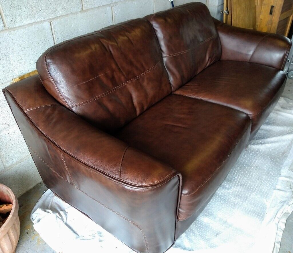 Leather Sofa By John Lewis In