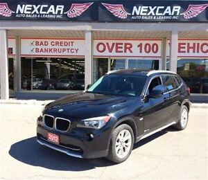 2012 BMW X1 AUTO* AWD LEATHER ONLY 125K