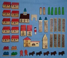 Erzgebirge Putz Mini Wooden Village (unboxed)