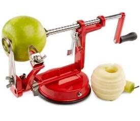 3 IN 1 Apple Peeler Slicer Corer Dicer Cutter Litchen Potato Fruit & Veg Machine