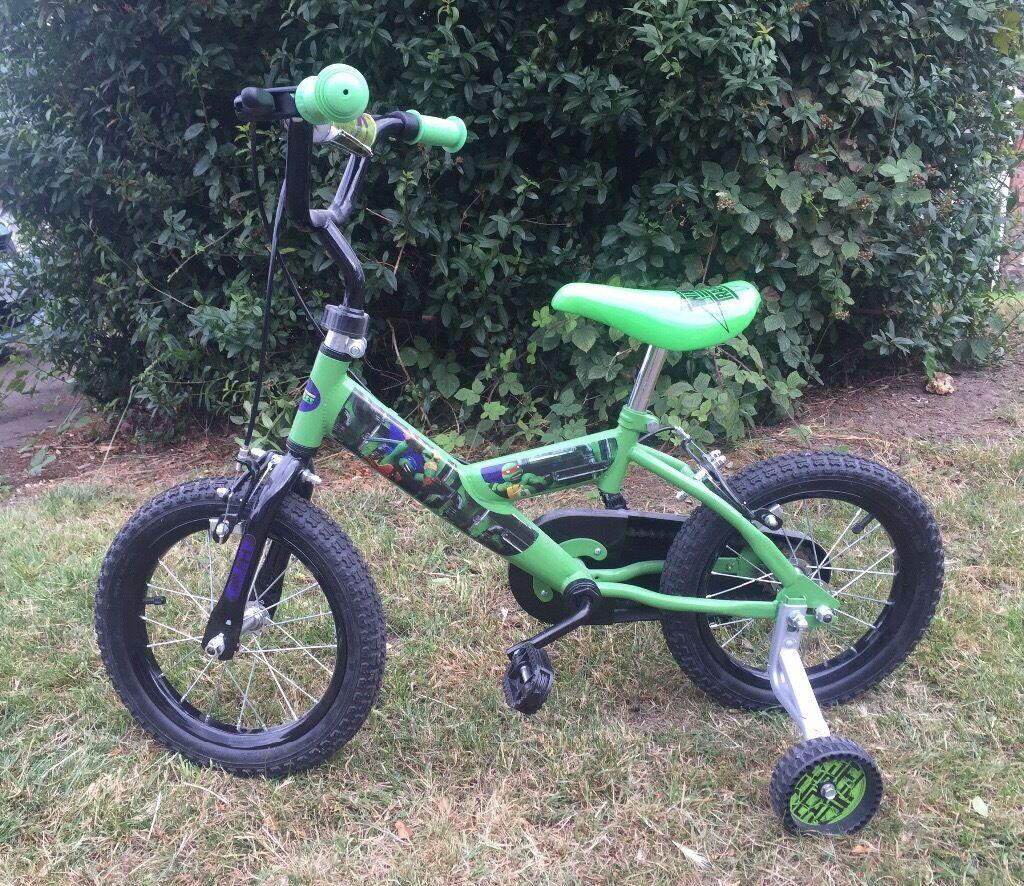 14 inch kids bike teenage mutant ninja turtle bike in coventry