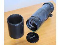 Tamron 200-400mm lens