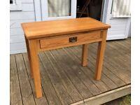 Petite Oak Laptop desk