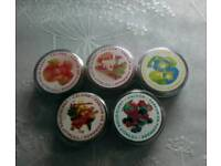 Assorted solid pefume in Compact. Sealed. Stocking fillers etc